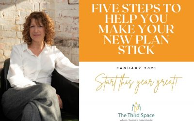 Five steps to help your resolution stick